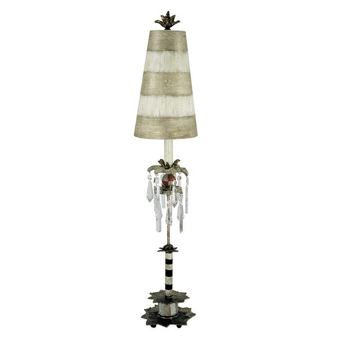 Klassische Tischleuchte Tischlampe Nachtlampe 1-flg BIRDLAND