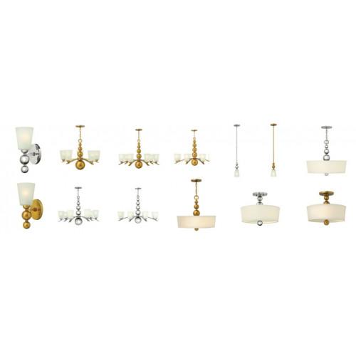 Hinkley Lighting-ZELDA-HK-ZELDA1-PN-ELSHK/ZELDA1 PN