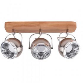 Strahler LED 3x5W/LED BALL WOOD 5031374 Spot Light