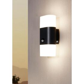 Außenlampe Wandleuchte LED von Bewegungsmelder 2x6W/LED FAVRIA 1 97314 Eglo