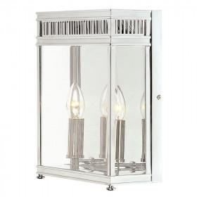 Garten-Wandlampe IP44 2x60W/E14 HL7/M PC HOLBORN ELSTEAD LIGHTING