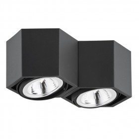 Deckenlampe 2x6W/LED ESPRESSO 736 Argon