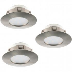 3 x Einbauleuchte 95809 3x6W/LED PINEDA Eglo