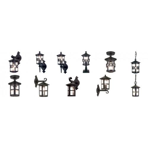 Elstead Lighting-HEREFORD-BL10-BLACK-ELSBL10 BLACK